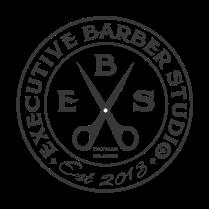 Executive Barbers logo stamp-01