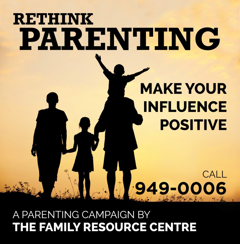 Family Resource Centre Rethink Parenting Bus Shelter