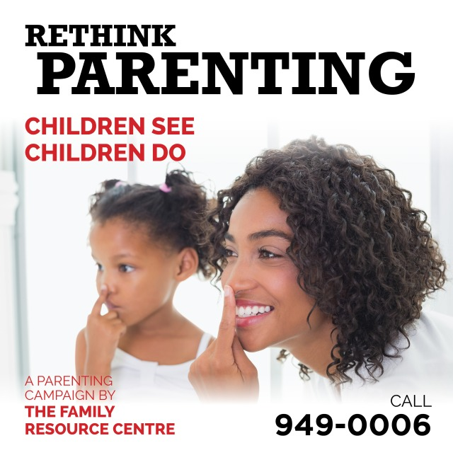 Family Resource Centre Rethink Parenting Bus Shelter2