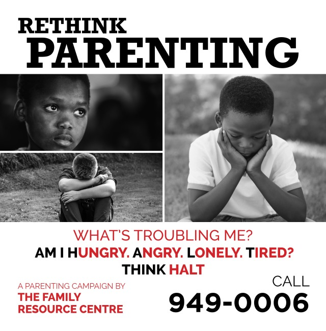 Family Resource Centre Rethink Parenting Bus Shelter3