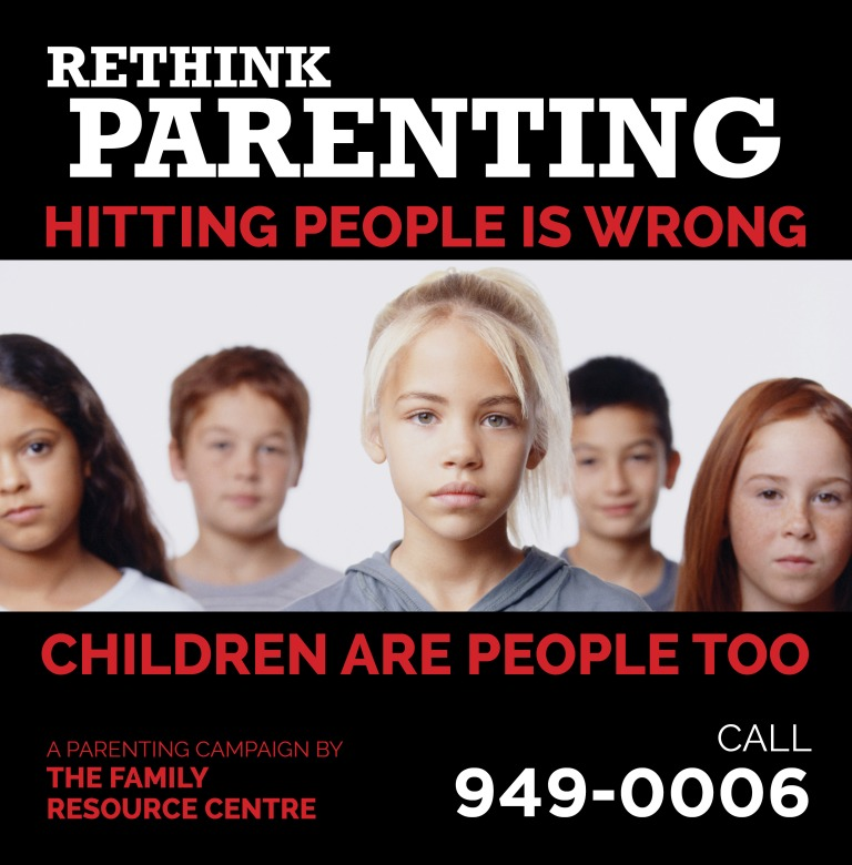 Family Resource Centre Rethink Parenting Bus Shelter4